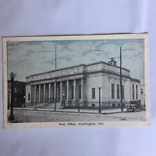 Post Office Huntington Indiana Unposted Postcard