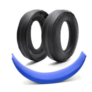 Ear pads headband cushion replacement for Sony PlayStation Gold Wireless Headset