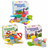 Clay Kids Dough Craft Modelling Gift Sets Tubs & Shapes Children Toys Xmas Molds