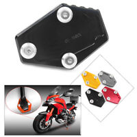Sidestand Kickstand Extension Stand Plate Pad For DUCATI Multistrada 1200/1200S