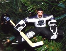 stephane FISET la LOS ANGELES kings hockey NHL xmas ornament TREE holiday JERSEY