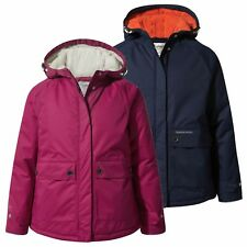 Craghoppers Cairney Girls Jacket Waterproof Lightly Insulated Breathable