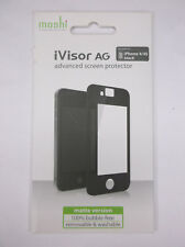 NEW moshi iVisor AG Advanced Screen Protector for iPhone 4/4S Black