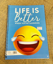 Pier Paper Co. - Crea8 Life is Better A4 Emoji Sprial Notebook