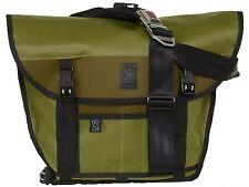 Chrome Mini Metro Messenger Unisex BG-001-OLIVE Green Strap Laptop Bag Bookbag