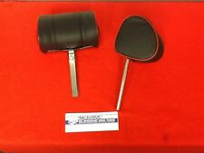 BRAND NEW MG BLACK WITH RED LEATHER  (D) SHAPE   HEADRESTS  1970 TO 1980