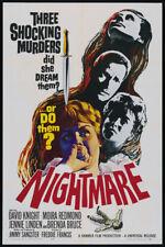 Nightmare David Knight vintage movie poster print