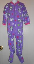 The Childrens Place Toddler Girls Fleece Blanket Sleepers 3T X 2 NWT