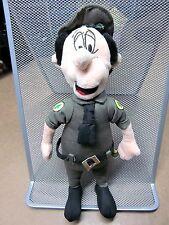 PARK RANGER SMITH doll plush vintage doll Hanna-Barbera YOGI BEAR