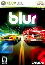 Blur (Microsoft Xbox Live 360, 2010) Pre-owned Free Shipping