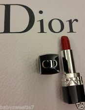Dior Rouge LipStick Dior 999 N°999 1.4g Miniature Sample Size