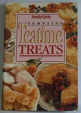 Tempting Teatime Treats Family Circle Confident Cooking mini cookbook 1994  pb