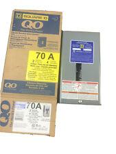 Square D Qo2-4L70Scp Load Center 120/240V 70A 3 Wire 2 Spaces 4 Circuits (New)