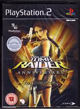 PS2 Lara Croft Tomb Raider Anniversary Collector's Edition UK Pal Factory Sealed