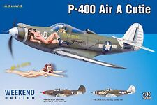 Eduard 8472 P-400 'Air A Cutie' 'Weekend Edition' 1/48 Scale Model Kit