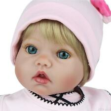 "20"" Real Life Reborn Dolls Girl Baby Soft Vinyl Silicone Baby Doll Birthday Gift"