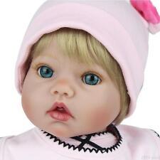"20"" Real Life Reborn Dolls Girl Baby Soft Vinyl Silicone Baby Doll Birthday Gift"