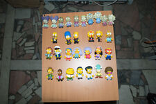 """Kidrobot Simpsons complete 3"""" set Series 2 + TREEHOUSE OF HORROR Zombie family"""