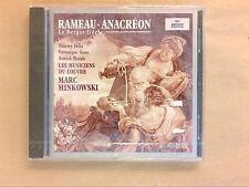 CD RARE / RAMEAU / ANACREON & LE BERGER FIDELE / MARC MINKOVSKI CONDUCTOR / NEUF