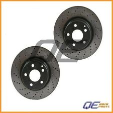 Mercedes-Benz CL500 S430 S500 S350 Set of 2 Disc Brake Rotors OPparts 40533021