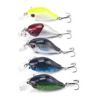 5.5cm 8g pesca crankbait hard bait tackle artificial lures swimbait fish wobb NT