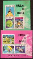 HONDURAS 1969 SPACE SC # C458a-C458b MNH