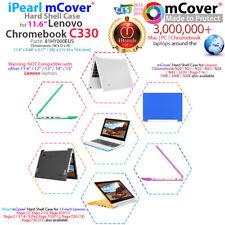 """NEW mCover® Hard Shell Case for 2018 11.6"""" Lenovo C330 series Chromebook Laptop"""