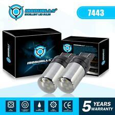 7443 7440 T20 W21/5W LED Turn Signal Brake DRL Parking Light Bulbs Fog Lights 2X