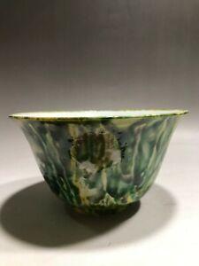 Chinese Porcelain Multi-colour Ceramic Bowl with Signature
