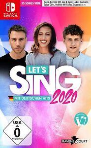 Switch - Let's Sing 2020 mit Deutschen Hits - (NEU & OVP)