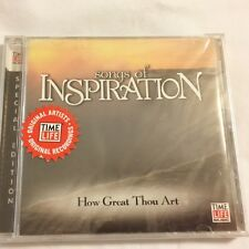 Brand New CD ~ Songs of Inspiration ~Time Life Music ~Great Gift ~12 Songs ~NEW