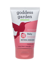 Goddess Garden Organics Baby Sunscreen 30SPF - 3.4oz (96g) Pediatrician Tested
