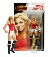 "MATTEL WWE WRESTLEMANIA CORE 6"" ACTION FIGURES - TRISH STRATUS - NEW BOXED"