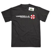 Umbrella Corporation Corp Inspired by Resident Evil Printed T-Shirt