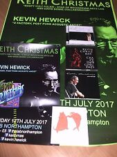 KEITH CHRISTMAS-DAWN CD/FAT CAT CD/LIVE PUMP CD/CRAZY...CD-SIGNED+2xPOSTERS