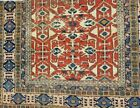 Antique Tabrizz Haj Jalili Rug rare Caucasian Kuba & Lotto pattern