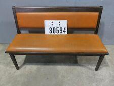 3Stk. Bank Sitzbank Dinerbank Gastro Kaffe Bar Bistro Stuhl Stühle Retro #30594