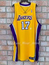 Nba Game Issued Los Angeles Lakers Jersey Andrew Bynum Adidas 58+
