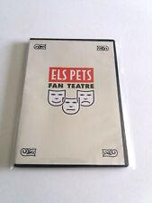 """ELS PETS """"FAN TEATRE"""" DVD COMO NUEVO CAJA SLIM"""