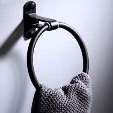 Bathroom Toilet Hand Towel Ring Holder Rail Stainless Steel Wall Mounted Hanger