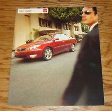 Original 2005 Toyota Camry Sales Brochure 05