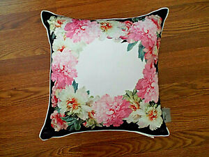 NEW***TED BAKER London Painted Posey Accent FLORAL PILLOW!