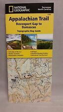 National Geographic Appalachian Trail Map Guide NC TN Davenport - Damascus 1502