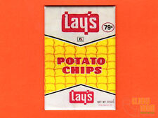 "Vintage Lays potato chips  2x3"" fridge/locker magnet"