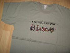 El Salvador Pride Tee - Un Pais Pequeno ... Un Orgullo Grande Spanish T Shirt XL