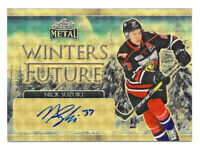 2016-17 Nick Suzuki Leaf Metal Winter's Future Superfractor Auto 1/1 - Canadiens