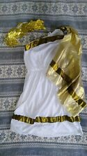 **EX CONDITION** LADIES TOGA COSTUME - One Size - Roman/Party/Fancy Dress