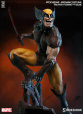 1/4 Scale Sideshow Wolverine Brown Costume Exclusive Premium Format Statue New