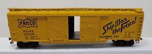 Athrean HO Scale Frisco (SF-SF) 50' Double Door Box Car #152705