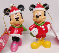 Disney enesco Traditions Shore Weihnachtsbaumschmuck Ornament Mickey Minnie Set